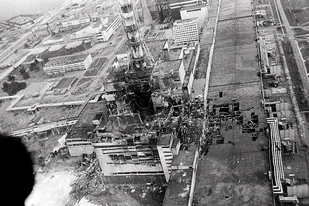 реактора Чернобыльской АЭС
