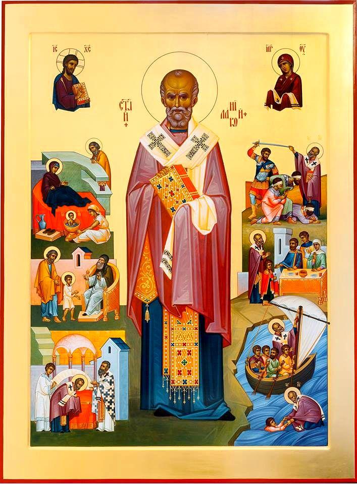 Блаженнейший Онуфрий: Святитель Николай указывает верную дорогу к ...