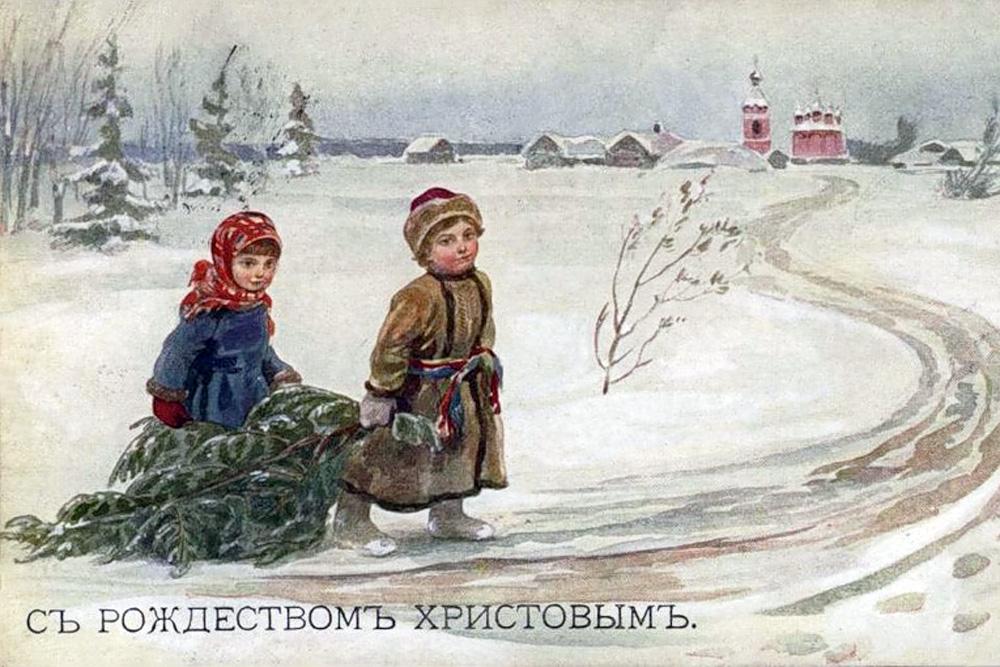 Живая картинка, картинки с новым годом и рождеством старинные русские