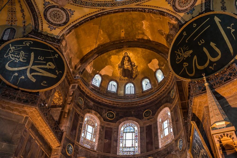 Храм святой софии в византии картинка