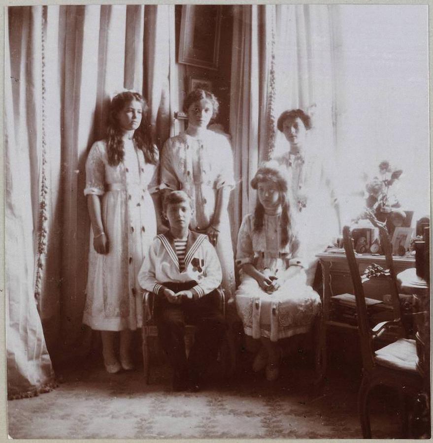 Картинки царской семьи романовых, брата