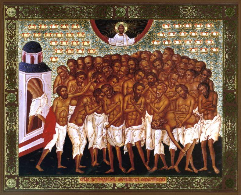 Картинки по запросу картинки сорок мучеников