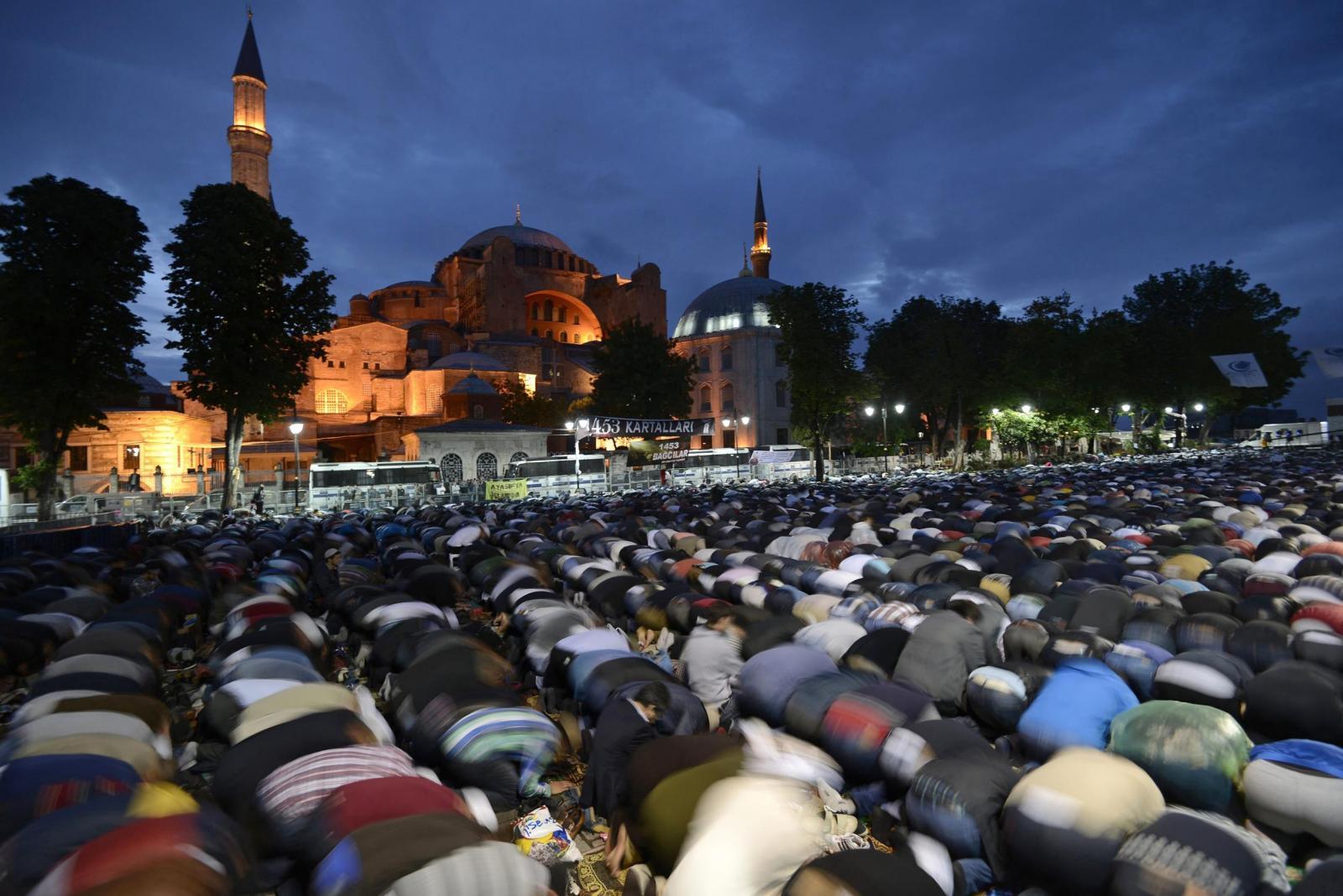 софия стала мечетью