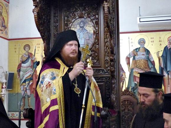 ЕПИСКОП ИОНА ПОПРОСИЛ ГРЕКОВ МОЛИТЬСЯ О ПРЕДСТОЯТЕЛЕ И ВЕРНЫХ УПЦ