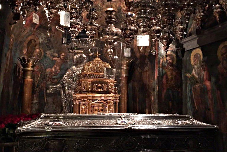 фото гроба спиридон тримифунтский том, что
