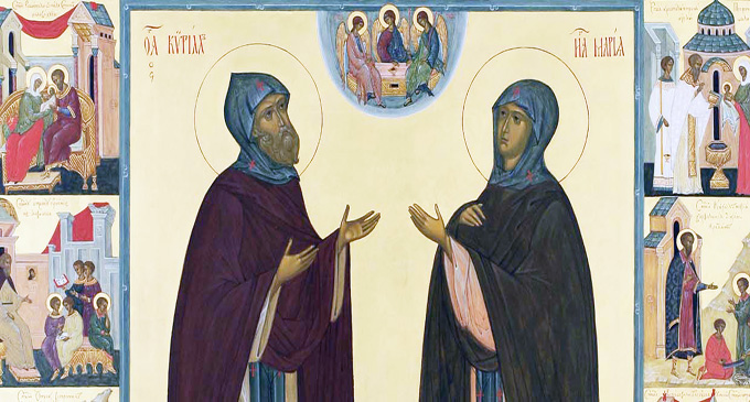 Преподобные Кирилл и Мария Радонежские: святые родители святого |  Православная Жизнь