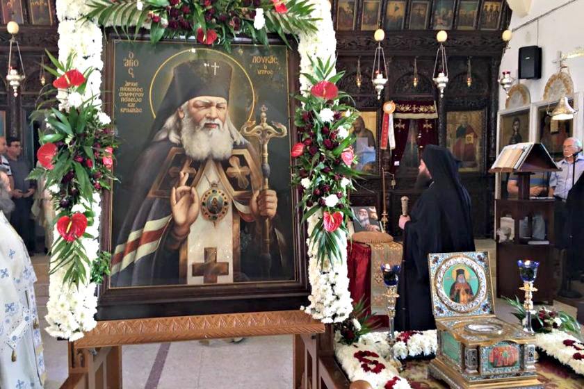 Святой лука крымский где в симферополе находятся его мощи