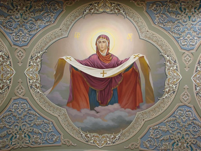 Картинки по запросу Покров Пресвятой Богородицы и Приснодевы Марии