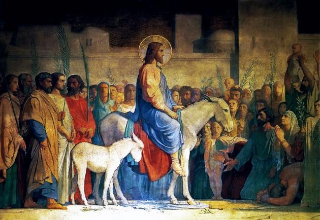 Господь накануне входа в Иерусалим явил человечеству главное свидетельство жизни вечной