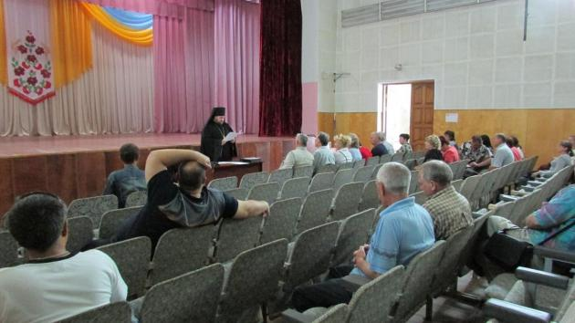 Собрание общественной организации «Моя Новопсковщина»