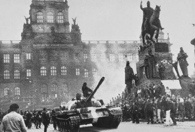 Прага, август 1968 г.