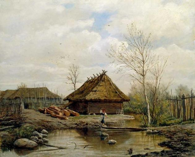 Брюллов Павел Александрович. Весна. 1875