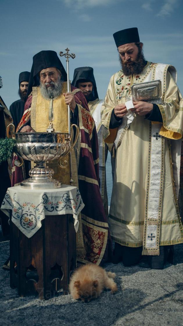 игумен афонского монастыря Дохиар геронда Григорий (Зумис).