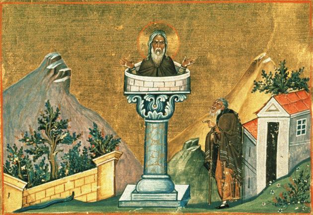 24 декабря Православная Церковь вспоминает преподобных Даниила Столпника и Луку Столпника Ih3874
