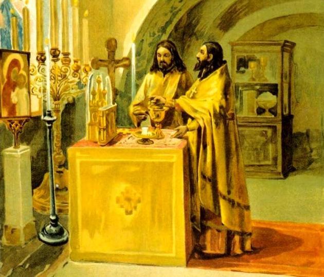Обязательно ли читать перед причащением святых христовых таин каноны и последование