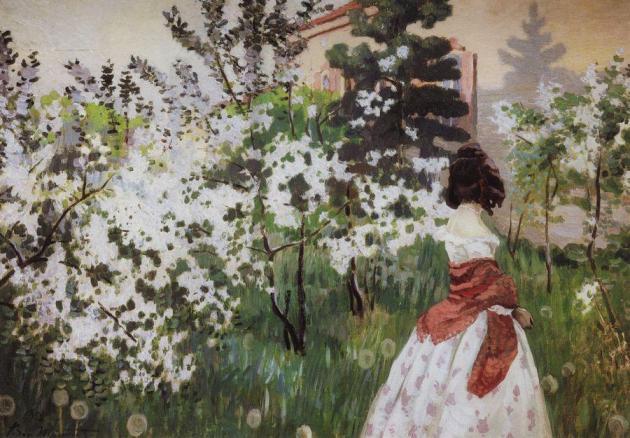 Борисов-Мусатов Виктор Эльпидифирович (1870-1905). Весна. 1898-1901
