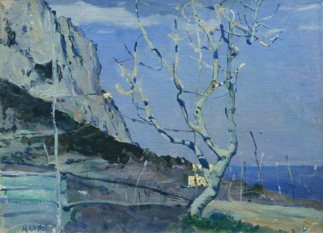 Нестеров Михаил Васильевич. (1862-1942). Капри. Весна. 1908