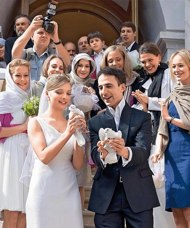 Секс с женой фото со свадьбы