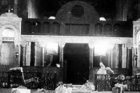 1944. Так после оккупации выглядел интерьер Кирилловской церкви