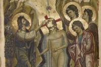 Византия. XII век. Евангелие. Лос-Анджелес. Музей Гетти