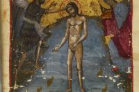 Византия. XII век. Евангелие. Лондон. Британская библиотека