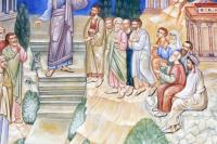 Апостол Павел проповедует в ареопаге