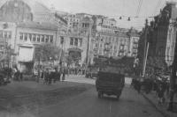 Бульвар Шевченко, осень 1941 года (нынешнее название бульвар носит с 1919 года)
