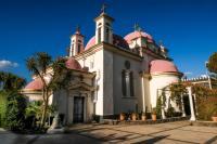 Церковь 12-ти Апостолов в Капернауме, жемчужина Галилейского моря
