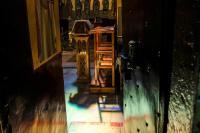 Гора Фавор, монастырь Преображения Господня. Церковь сияющая отблесками божественного Света