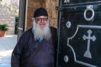 Игумен Иларион – настоятель монастыря Преображения Господня на горе Фавор. Отец служит здесь уже больше 40 лет