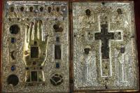 Ковчег с частицей Животворящего Креста Господня. Монастырь Дохиар
