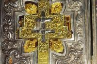 Ковчег с частицей Животворящего Креста Господня. Монастырь Кутлумуш