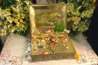 Ковчег с частицей Животворящего Креста Господня. Монастырь Пантократор