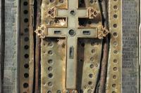 Ковчег с частицей Животворящего Креста Господня. Монастырь Святого Павла