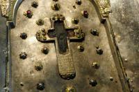 Ковчег с частицей Животворящего Креста Господня. Великая Лавра