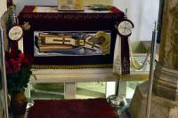 Ковчег с мощами св. Климента Охридского
