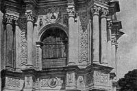 Лавра. Колокольня церкви у Дальних пещер.  1919
