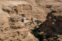Монастырь преподобного Георгия Хозевита в ущелье Вади-Кельт