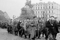 Освобождение Киева. Софийская площадь, осень 1943