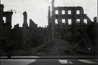 Руины на Крещатике. 1943 год