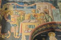 Суд Пилата - фреска в экзонартексе