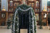 Вертеп в храме Феодоровской иконы Богоматери г.Бахчисарай