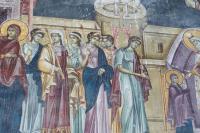Введение Марии во храм - начало 14 века