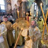 Предстоятель очолив Богослужіння 21 грудня в храмі Антонія та Феодосія Печерских